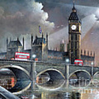 London Pride Art Print by Ken Wood