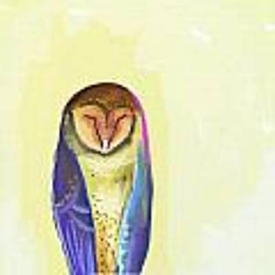 Quiet Owl Art Print