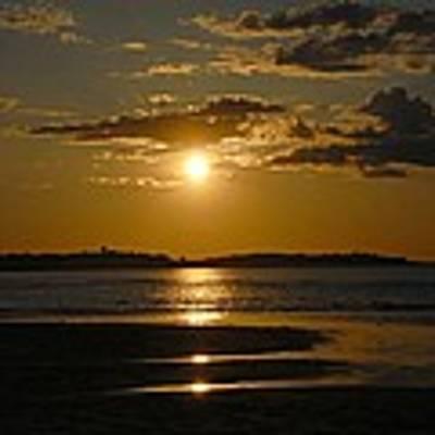 Sunset On Crane Beach Art Print by AnnaJanessa PhotoArt
