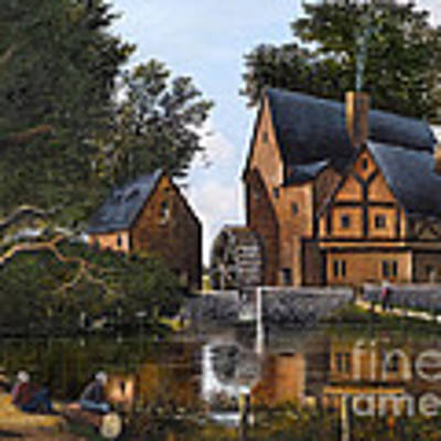 The Old Mill Art Print by Ken Wood