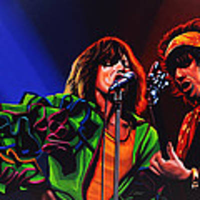 The Rolling Stones 2 Art Print