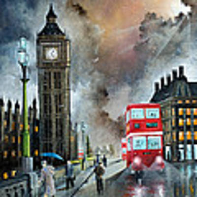 To Peckham Rye Art Print by Ken Wood