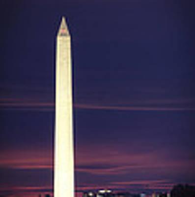 Washington Monument Art Print by Cindy Lark Hartman