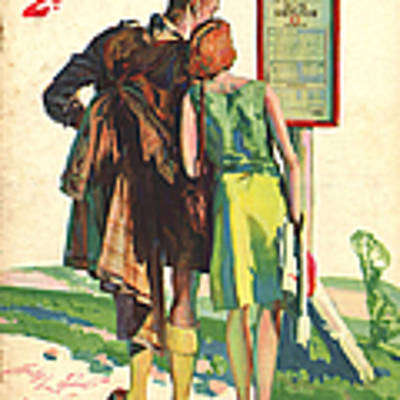 1930s,uk,passing Show,magazine Cover Art Print by The Advertising Archives