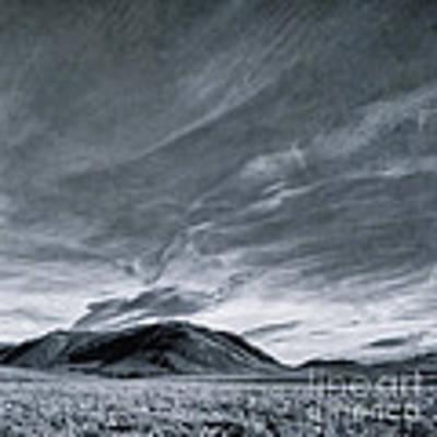 Land Shapes 19 Art Print