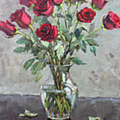 Red Roses Original by Ylli Haruni