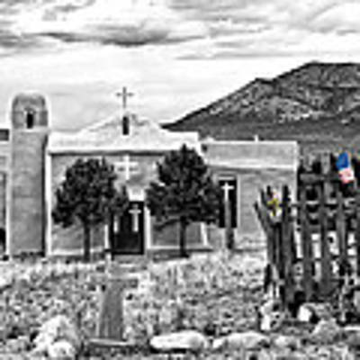 San Francisco De Asis Church Art Print by Lou  Novick
