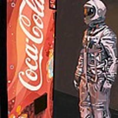 The Coke Machine Art Print by Scott Listfield
