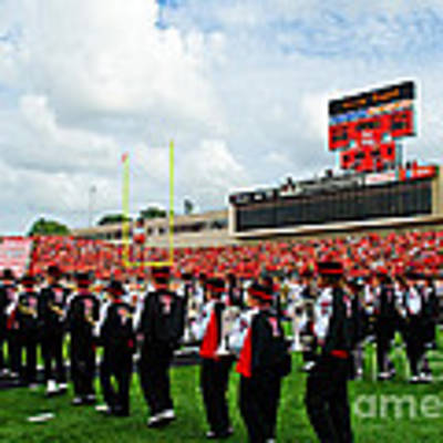 The Going Band From Raiderland Art Print by Mae Wertz