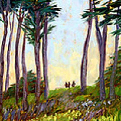 A Walk In The Park Original by Alice Leggett