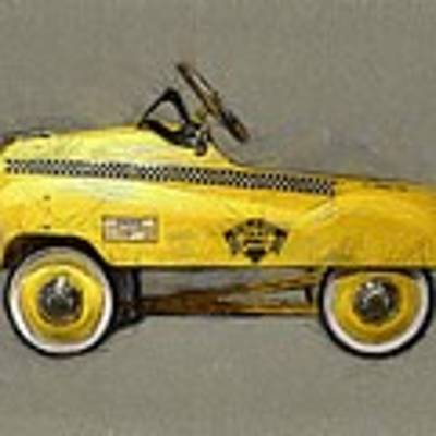 Antique Pedal Car Lll Art Print