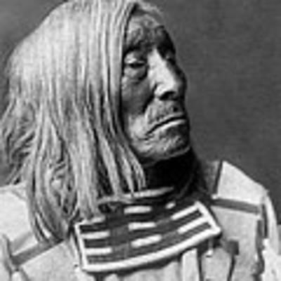 Apsaroke Native Indian Circa 1908 Art Print