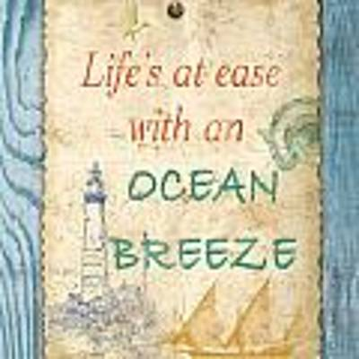 Beach Notes-c Art Print by Jean Plout