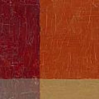Bricks And Reds Art Print