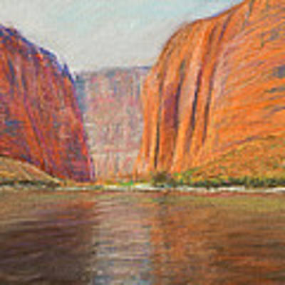 Canyon River Passage Art Print by Kate Sumners