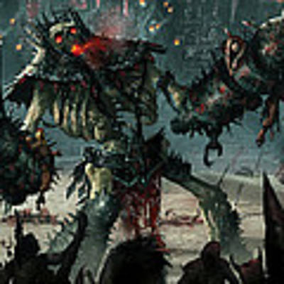 Carnage Gladiator Art Print
