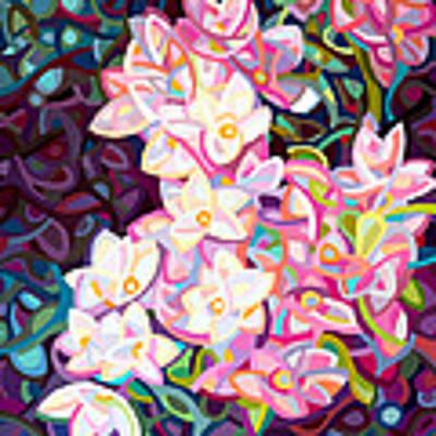 Cascade Art Print by Mandy Budan