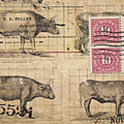 Cattle Arrived Art Print