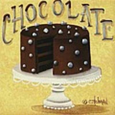 Chocolate Cake Original by Catherine Holman