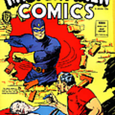 Classic Comic Book Cover - Mystery Men Comics - 1200 Art Print