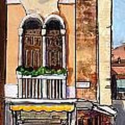Classic Venice Art Print by TM Gand