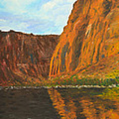 Colorado River Art Print by Kate Sumners