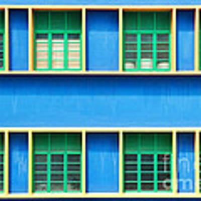 Colorful Windows Art Print by Yew Kwang