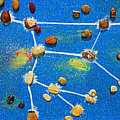 Constellation Of Ursa Major Art Print by Augusta Stylianou