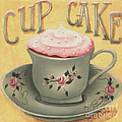 Cup Of Cake Original by Catherine Holman