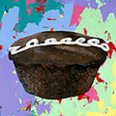 Cupcake #3 Art Print by David Palmer