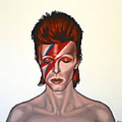 David Bowie Aladdin Sane Original by Paul Meijering