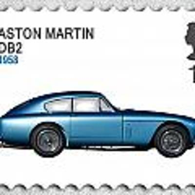 Db2 Postage Stamp Art Print