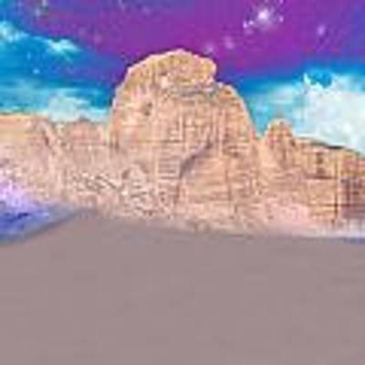 Dreaming Landscape Art Print by Augusta Stylianou