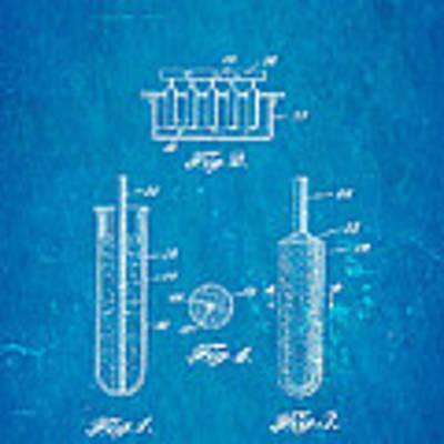 Epperson Popsicle Patent Art 1924 Blueprint Art Print