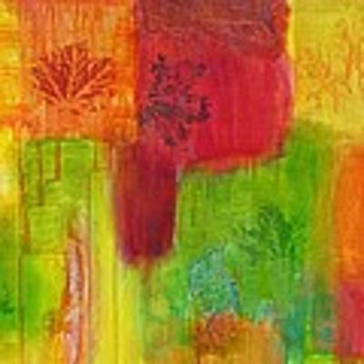 Fall Impressions Art Print by Angelique Bowman