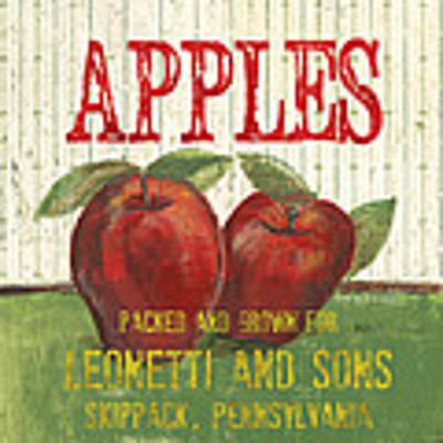Farm Fresh Fruit 3 Art Print