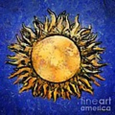 Flowering Sun Art Print by RC DeWinter