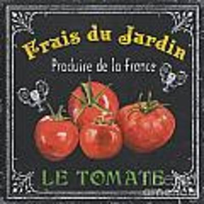 French Vegetables 1 Art Print