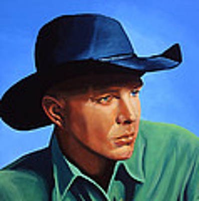 Garth Brooks Original by Paul Meijering