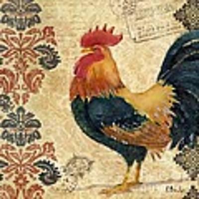 Gourmet Rooster II Art Print