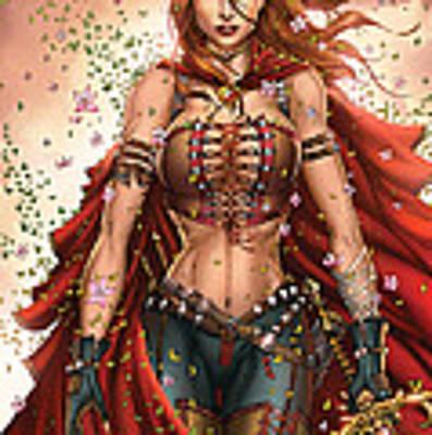 Grimm Fairy Tales Unleashed 04c Belinda Art Print
