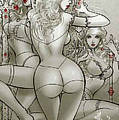 Grimm Fairy Tales Unleashed Hunters 03c Art Print