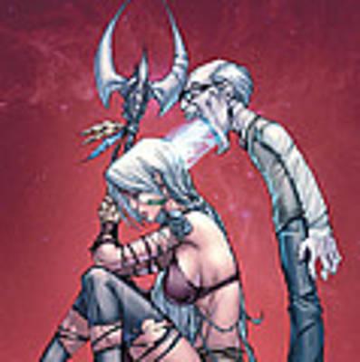 Grimm Myths And Legends 06a Art Print
