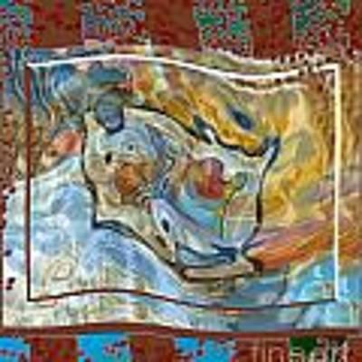 Inw_20a5095 Spread Love Rippling Art Print by Kateri Starczewski