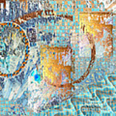 Inw_20a6020sq Ageless Glacial Memories Art Print by Kateri Starczewski