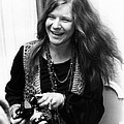 Janis Joplin 1969 Art Print
