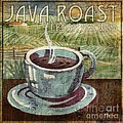 Java Roast Art Print by Paul Brent