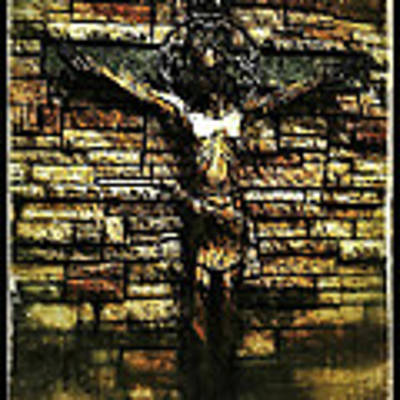 Jesus Coming Into View Art Print by Al Harden