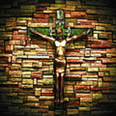 Jesus Is His Name Art Print by Al Harden