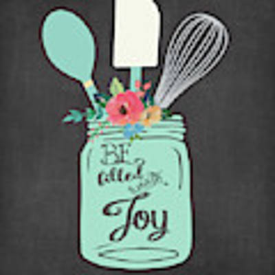 Joy Jar Art Print